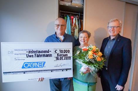 CABINET gratuliert dem Gewinner der 10.000 € Traumschrank ...